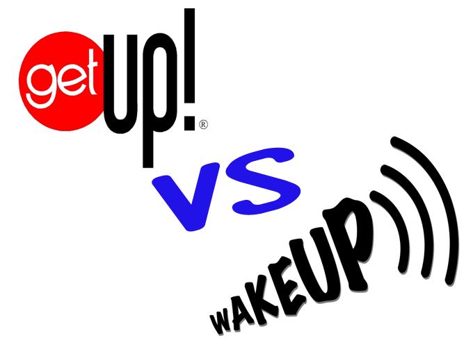 get up dan wake up, perbedaan wake up dan get up