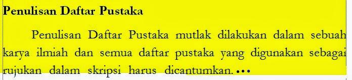 kursus bahasa inggris di bali, caar menulis daftar pustaka bahasa inggris, privat bahasa inggris di bali