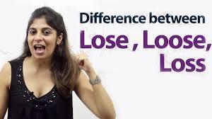 loose', 'lose', loss, perbedaan loose lose dan loss, kursus bahasa inggris di bali, les inggris di bali, kursus bahasa inggris di denpasar