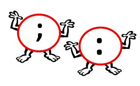 colon vs semicolon