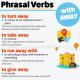 Phrasal verb away