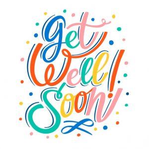 Kata lain untuk Get well soon